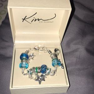 Beach charm bracelet